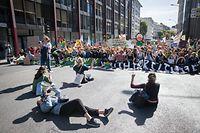 Une manifestation monstre de la coalition «United for Climate Justice» est annoncée pour vendredi dans les rues de la capitale