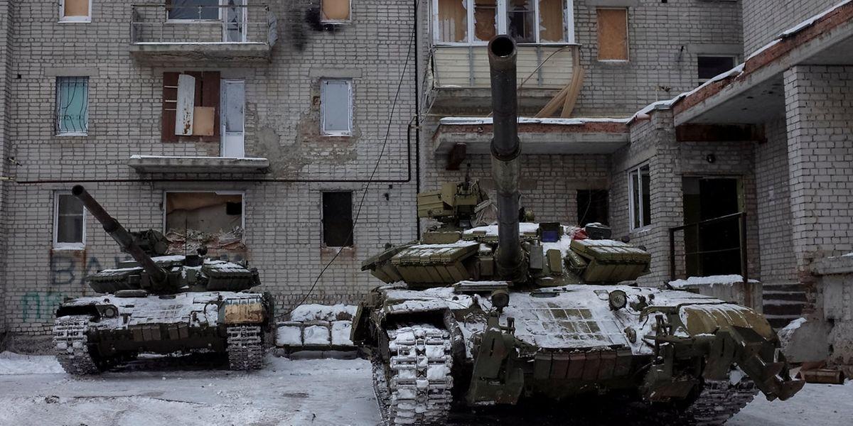 Trotz des Waffenstillstands flammen die Kampfhandlungen in der Ostukraine punktuell wieder auf.
