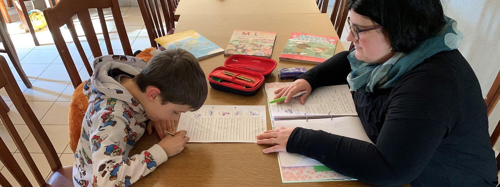 L'enseignement à domicile ne s'improvise pas et semble parfois compliqué pour les parents.