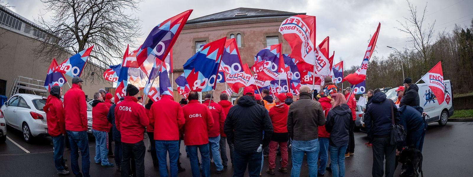 Bilder von gewerkschaftlichen Protesten werden in der Zukunft häufiger zu sehen sein.