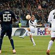 Dominik Stolz (F91 10) / Fussball, Europa League, Drittes Gruppenspiel, F91 - Olympiakos / 14.10.2018 / Luxemburg / Foto: kuva
