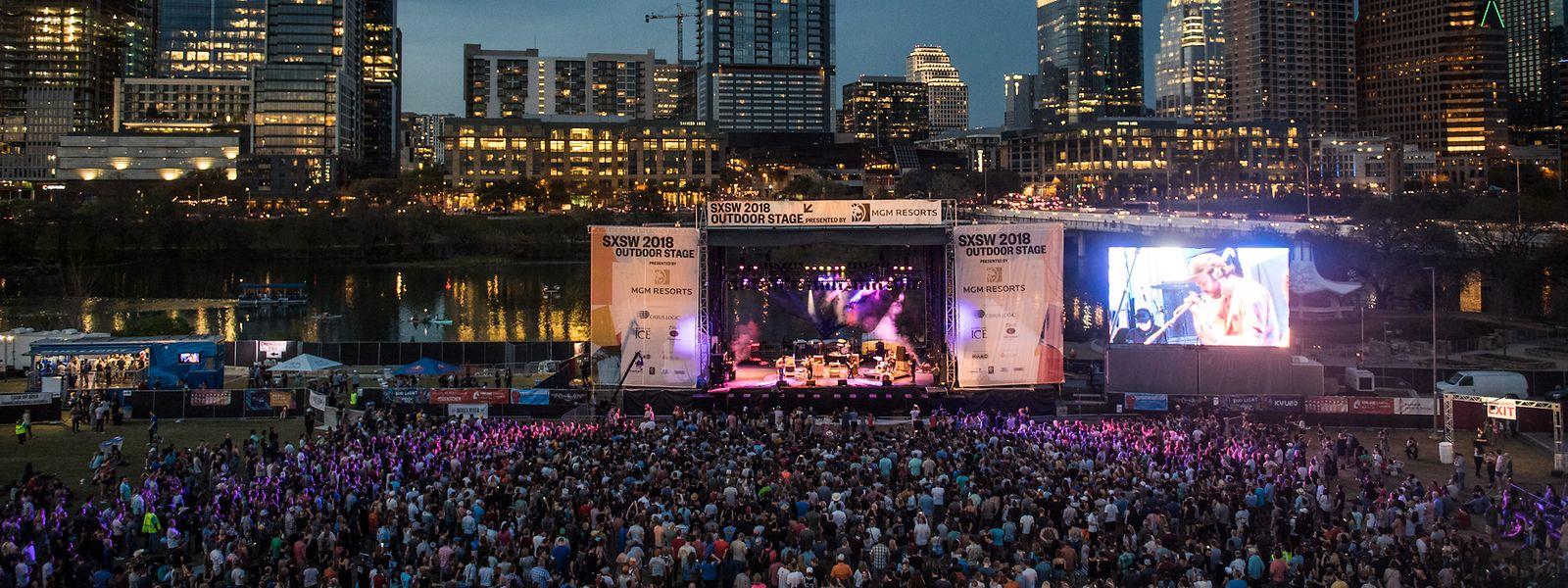 Das South by Southwest (SXSW) ist ein großes Festival inAustin - das auch jede Menge Live-Musik bietet.