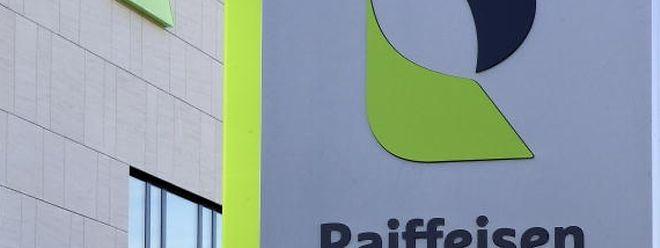 O banco Raiffeisen apresentou hoje resultados