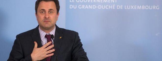 """""""Mea culpa"""" des Staatsministers: Zumindest in einem Punkt gibt Xavier Bettel im Nachhinein zu, falsch gehandelt zu haben."""