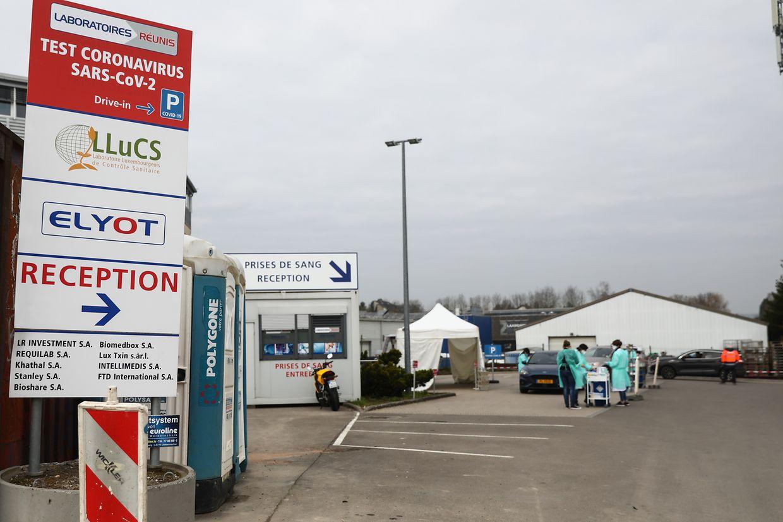 In Junglinster hat die Drive-In-Teststelle für möglicherweise mit dem Corona-Virus infizierte Menschen seit Freitag geöffnet.