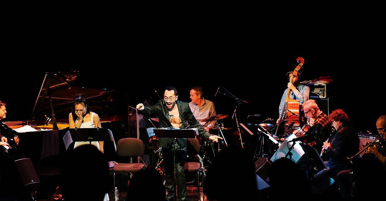 """Eine der Herausforderungen bei """"Œdipe Redux"""" bestand darin, die originale Oper zu kürzen - dieser Raum wird für Jazzimprovisationen genutzt."""