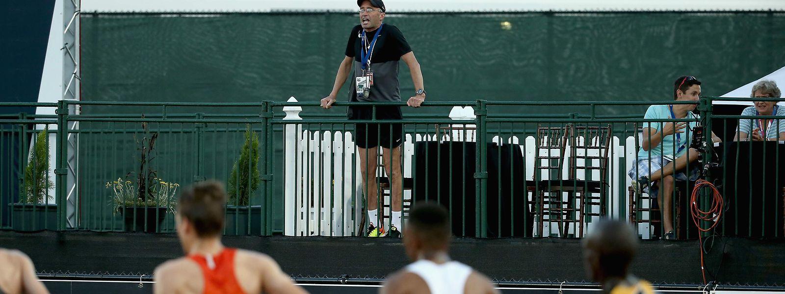 Alberto Salazar, Chef des Projekts, wurde wegen Verstößen gegen die Anti-Doping-Regeln für vier Jahre gesperrt.