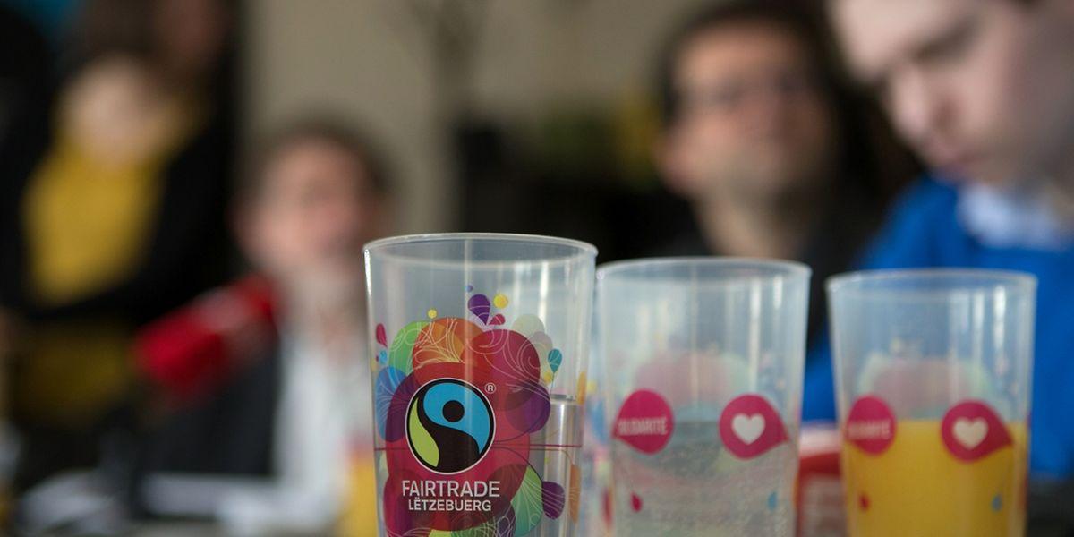 Das Fairtrade-Logo kennen weit über 90 Prozent der Menschen in Luxemburg.