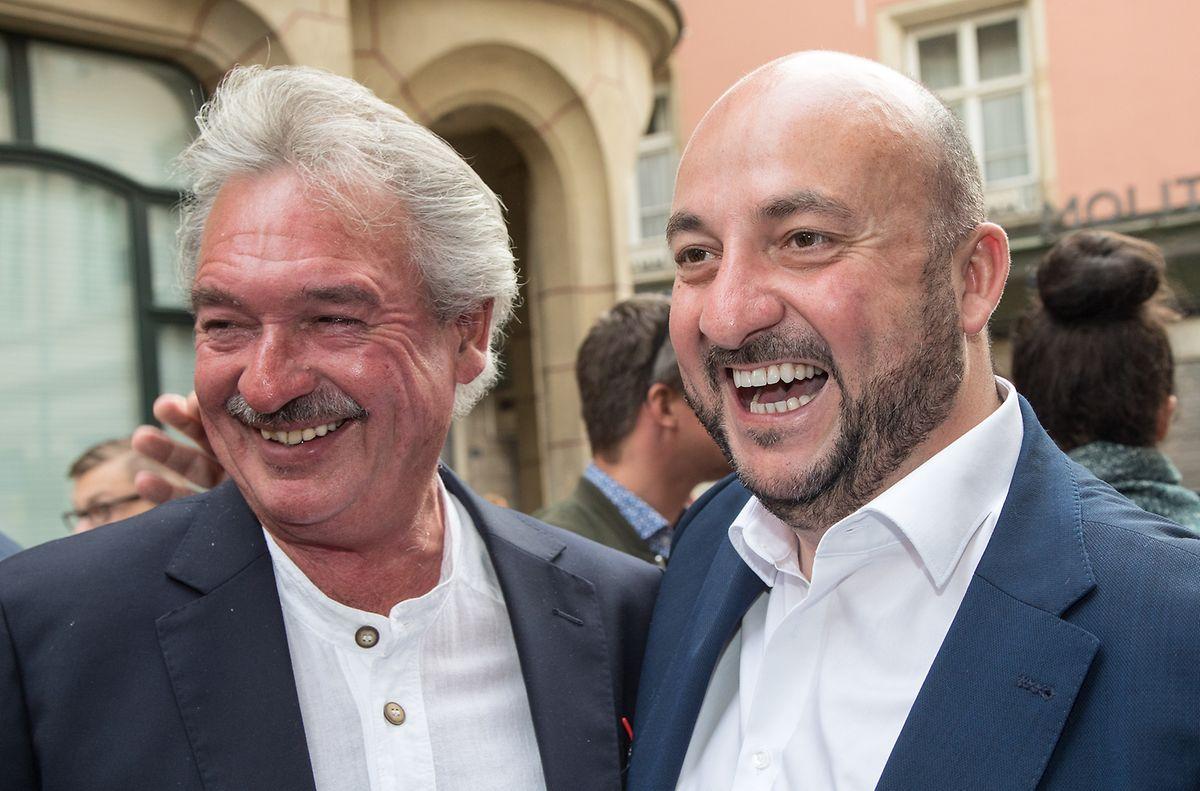 Außenminister Jean Asselborn (l.) und Vizepremier Etienne Schneider (r.) haben gut lachen: Gleich vier LSAP-Politiker landen beim Politmonitor unter den Top 5.