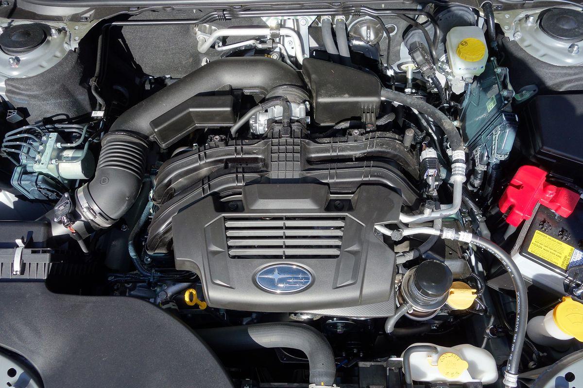 Subaru bleibt auch beim Outback seinem Antriebskonzept treu: Angetrieben wird der Wagen von einem 2,5-Liter-Boxermotor.