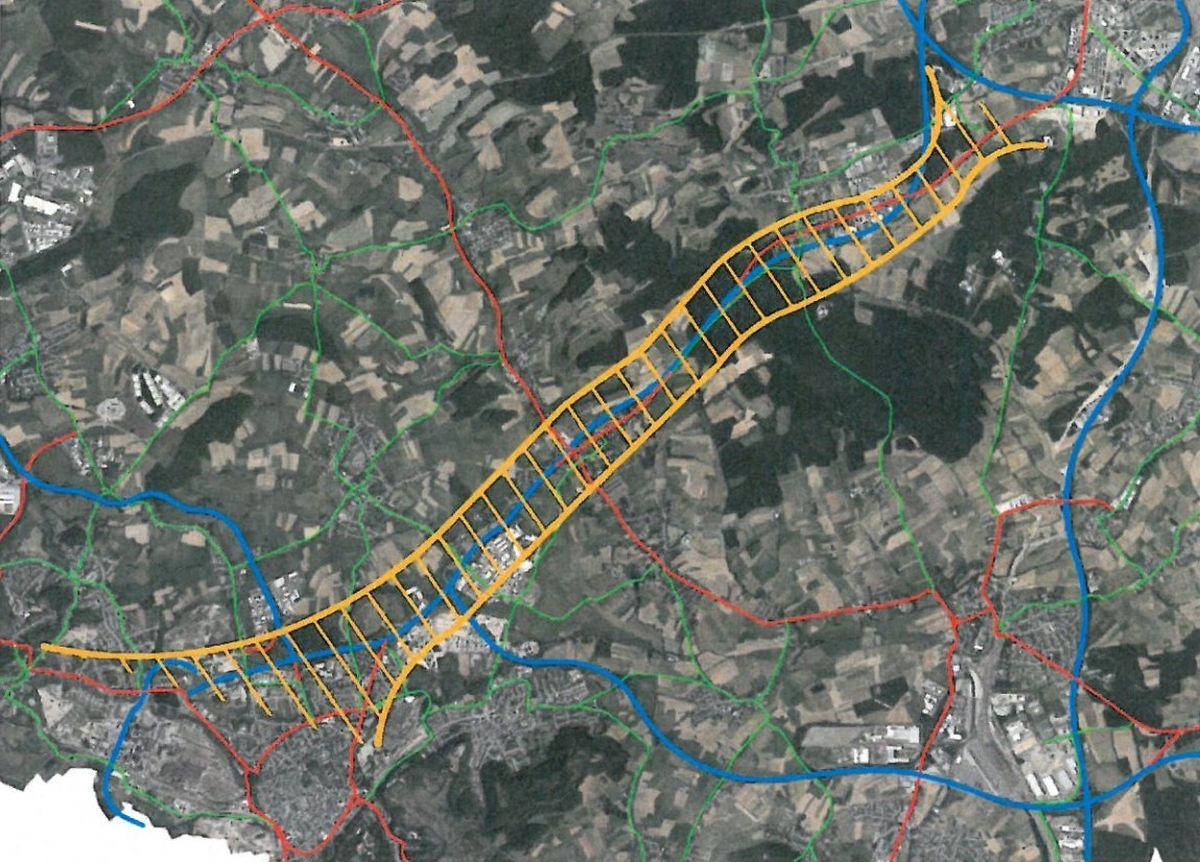 Le schéma du fameux corridor multimodal reliant la capitale à Esch, présenté début octobre au sein de la commission de la Mobilité.