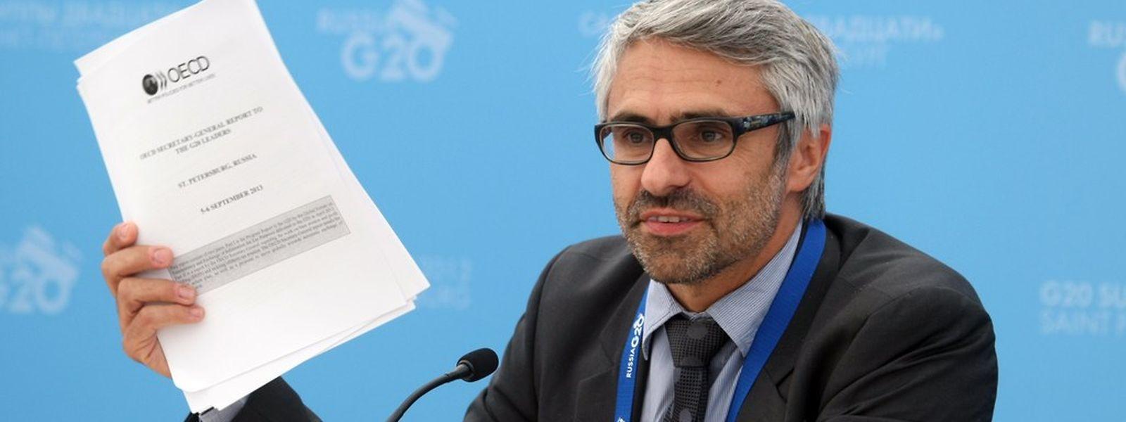 """""""Die Länder werden rivalisieren müssen, um das attraktivste Steuerniveau für Unternehmen anzubieten"""", sagt Pascal Saint-Amans von der OECD."""