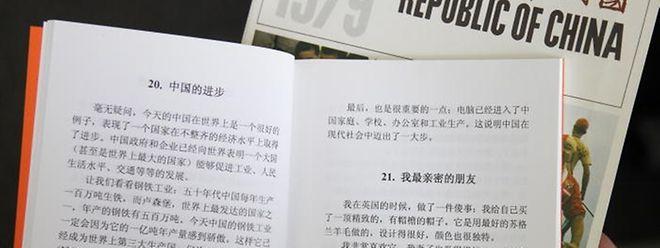 Chinesisch ist nach dem Englischen die am zweithäufigsten gesprochene Sprache.