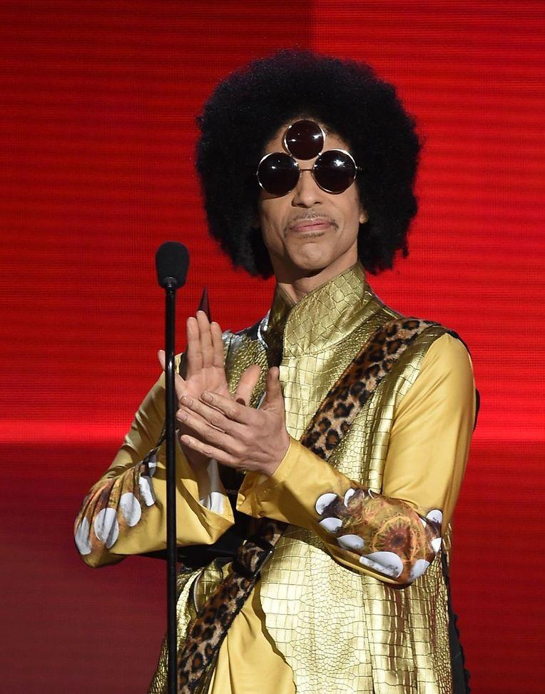 Prince bei einem Konzert im November 2015.