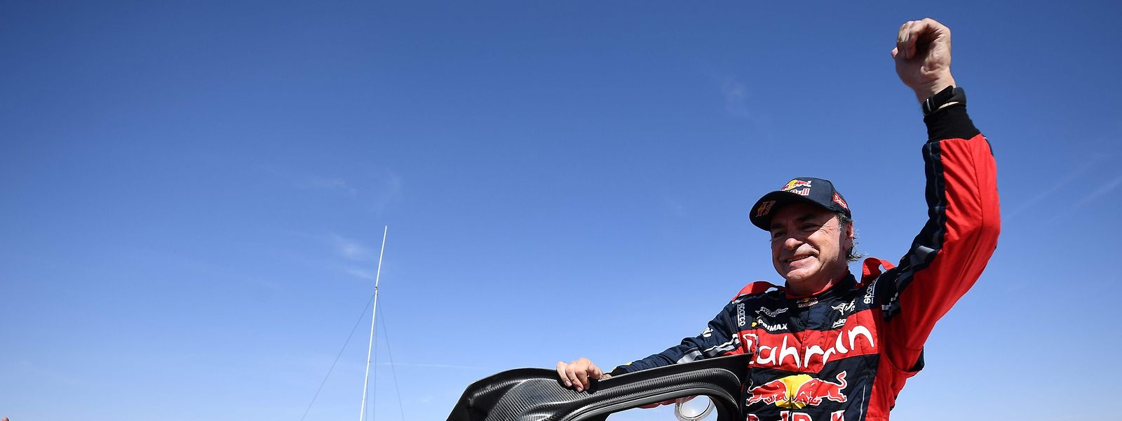 Carlos Sainz gewinnt die Rallye Dakar zum dritten Mal.
