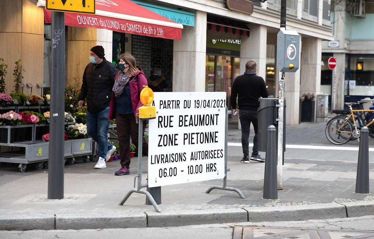 Les riverains doivent demander une vignette sur le site de la Ville pour accéder à la zone.