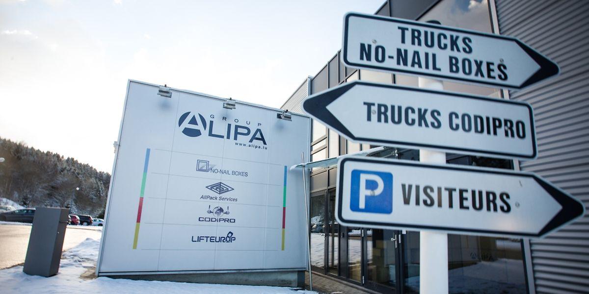 Die Alipa-Gruppe ist eines der Unternehmen, die in der Industriezone ansässig sind.