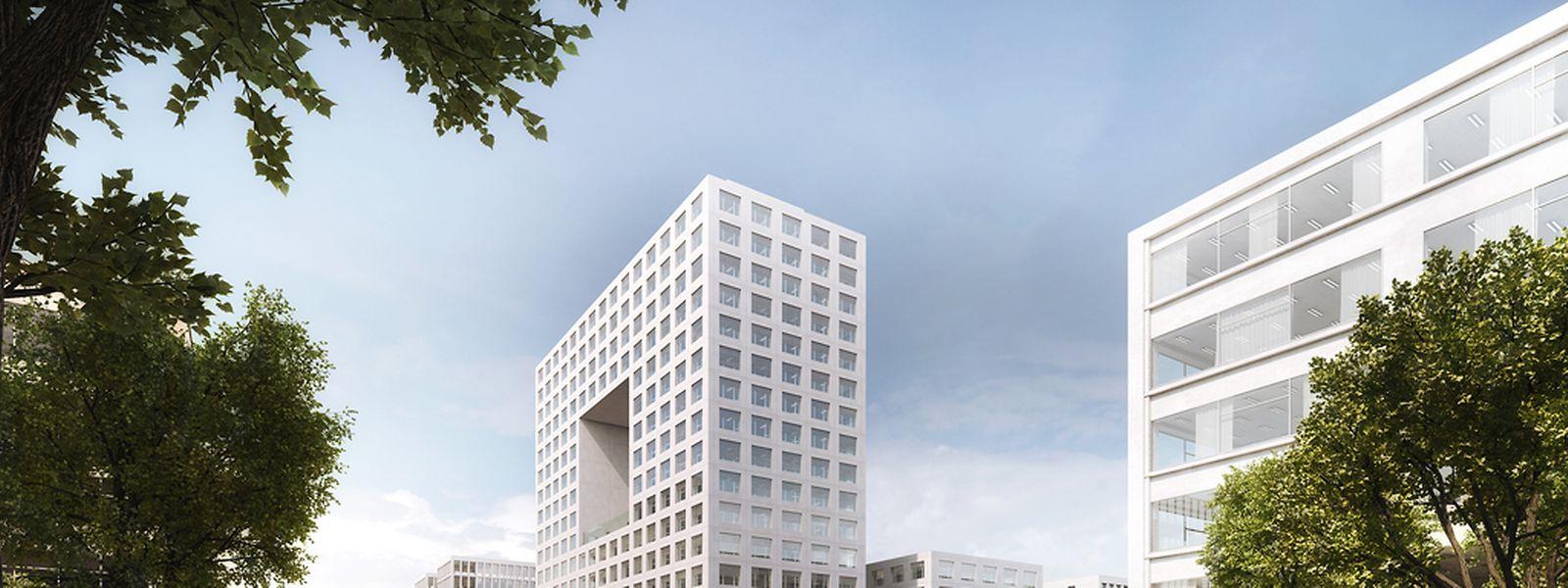 Le futur siège de Deloitte se trouvera intégré dans un futur ensemble immobilier sur le ban de Gasperich, boulevard Raiffeisen.