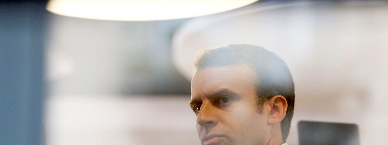 Präsidentschaftskandidat Emmanuel Macron wurde nach eigenen Angaben Opfer eines schweren Hackerangriffs.
