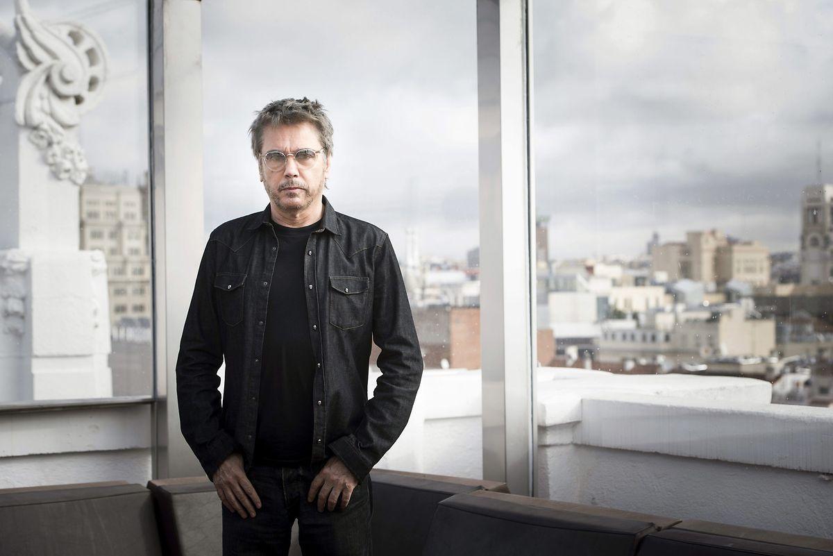 """Jean-Michel Jarre bei der Vorstellung seines Albums """"Electronica 1."""