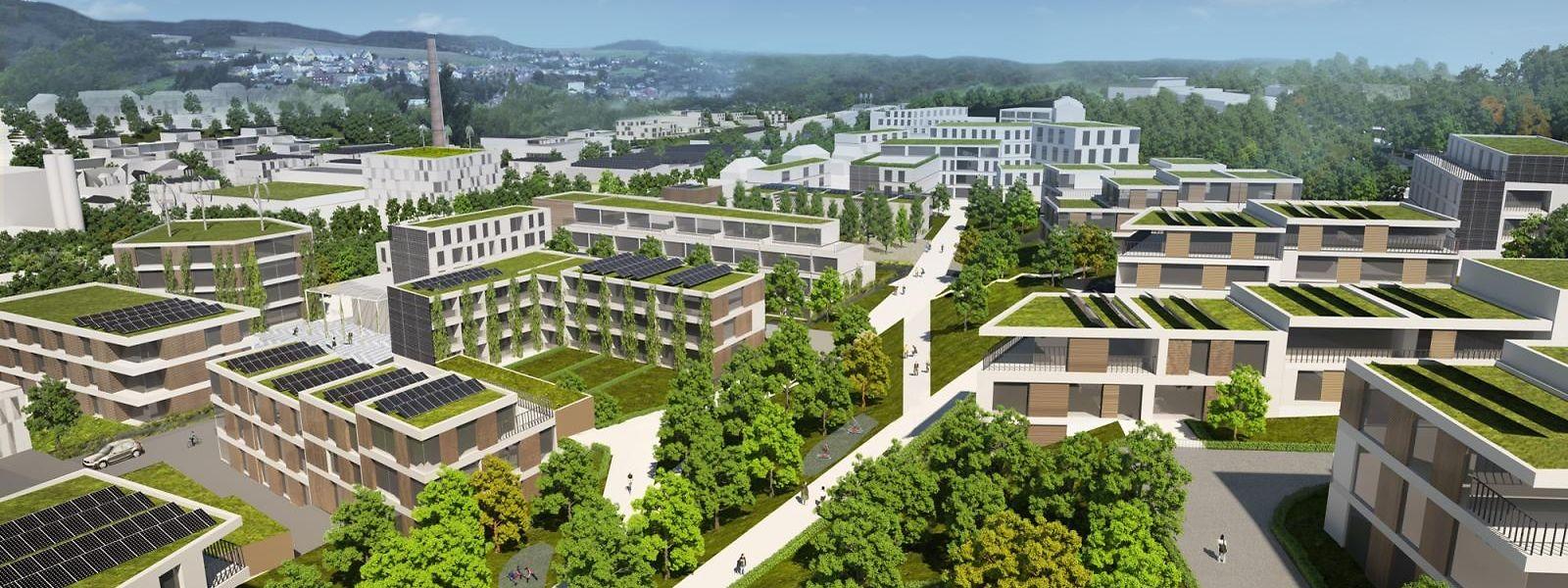 D'ici à 2030, ce sont 872 unités d'habitation, dont 833 gérées par le Fonds du logement, qui sortiront de terre dans le cadre du projet «Wunne mat der Wooltz».