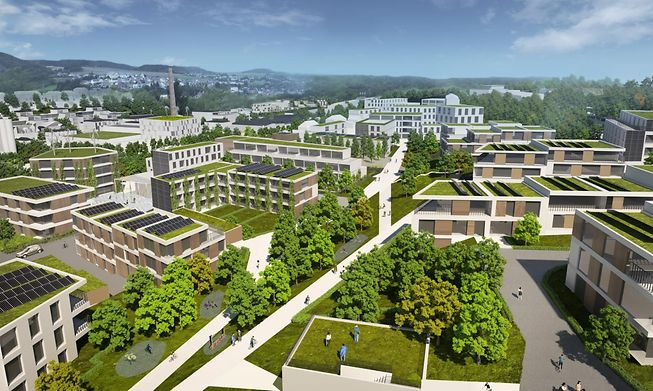 A project from the housing fund will see 872 housing units developed in Wiltz for 2030