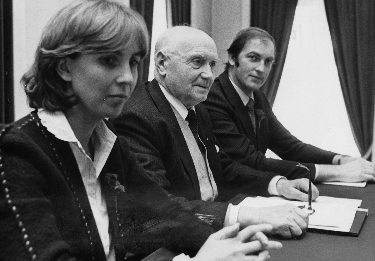 Lydie Polfer devient députée-maire à seulement 29 ans.