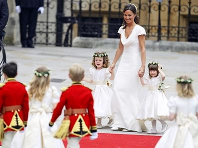 Middleton rose to global prominence when she was a bridesmaid at her sister's wedding in 2011.
