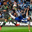 O mexicano Herrera, aos 87 minutos, marcou o golo da vitória dos 'dragões'.