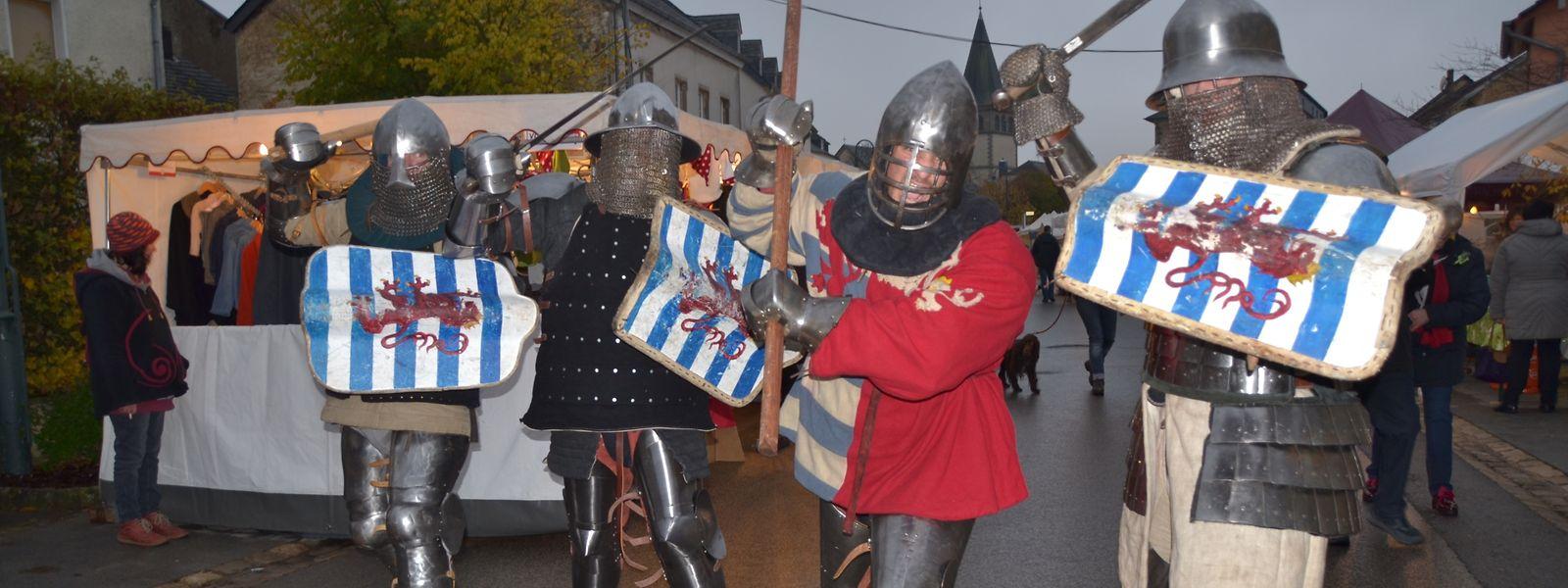Johann der Blinde mit seinen Rittern ist nicht so gefährlich wie er aussieht.