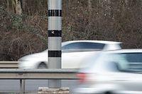 15 Mal war der Angeklagte vom Radar am Ende der A4 geblitzt worden. Jedes Mal war er ohne gültigen Führerschein unterwegs.