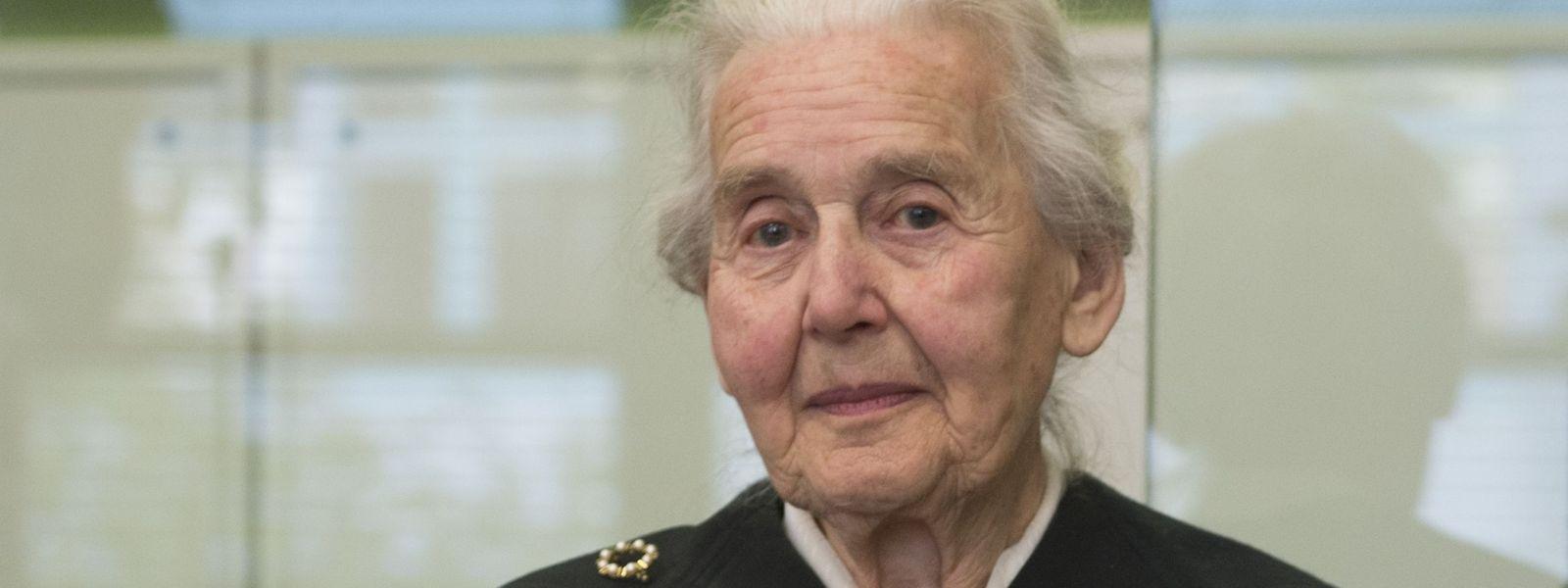 Ursula Haverbeck ist rechtskräftig wegen Volksverhetzung verurteilt.