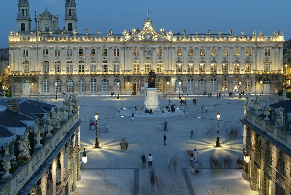 A view over Place Stanislas in Nancy