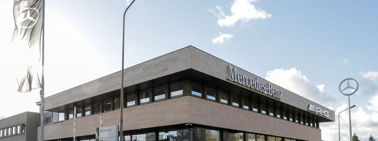 mercedes-benz luxembourg s.a.: werksniederlassung abzugeben