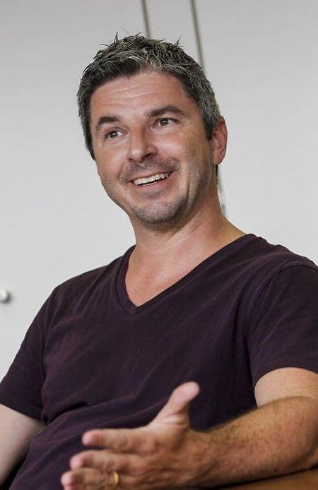 Vorher/nachher: Seit zehn Jahren leitet Jurist und Sacem-Gründungsmitglied Olivier Toth die Geschicke der Rockhal,...