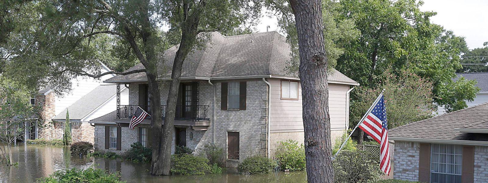 Die Schäden in Texas gehen in die Milliarden.