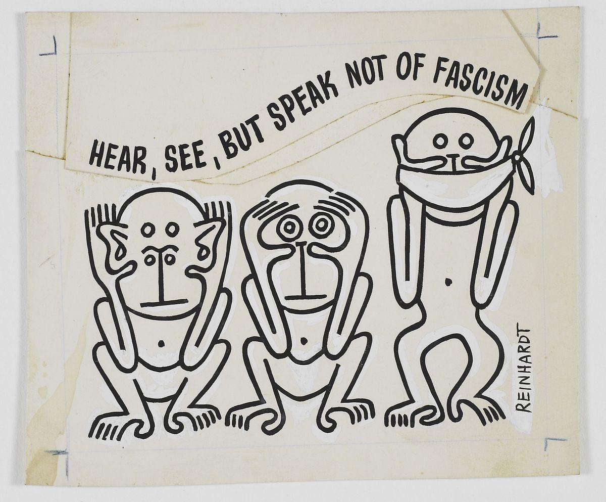 Ad Reinhardt: Untitled, 1943.