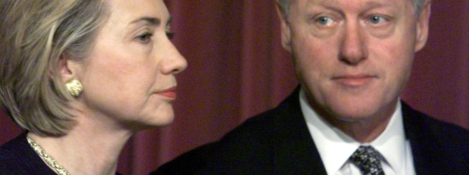 Hillary Clinton hat ihren Ehemann zum Joggen bewegt.