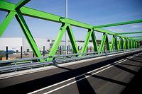Einweihung Verbindungsbrücke Eurohub-Multimodal. Foto:Gerry Huberty