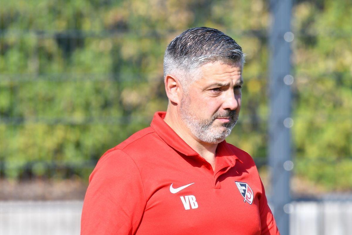 Vincent Bolognini, coach du Luna Oberkorn: «Ce fut un bon derby, rythmé, intense et tendu. Nous avons dominé la deuxième période et aurions dû ravir la totalité de l'enjeu.»