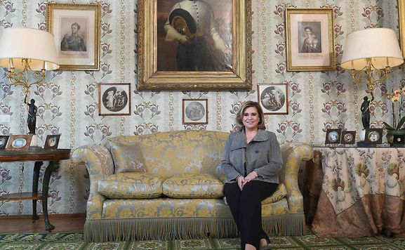 The candid AFP interview took place at the Colmar-Berg castle, the Grand Ducal residence