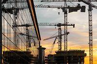 Wachstum,Wohnungsbau, Baustelle,Baukräne,Immobilien.Foto:Gerry Huberty