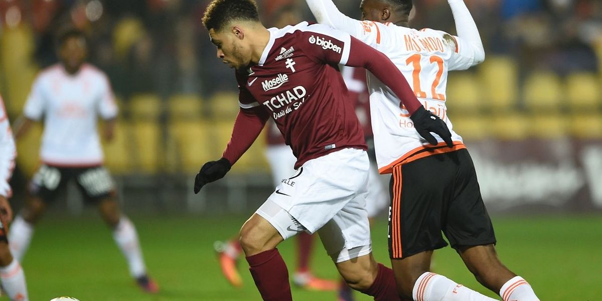 Simon Falette et le FC Metz ont souffert contre Lorient mais au final, les Grenats ont sauvé un point.