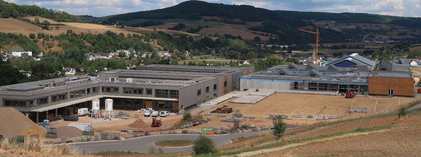 Die neue Ackerbauschule ist Am Kréiwénkel oberhalb Gilsdorf angesiedelt.