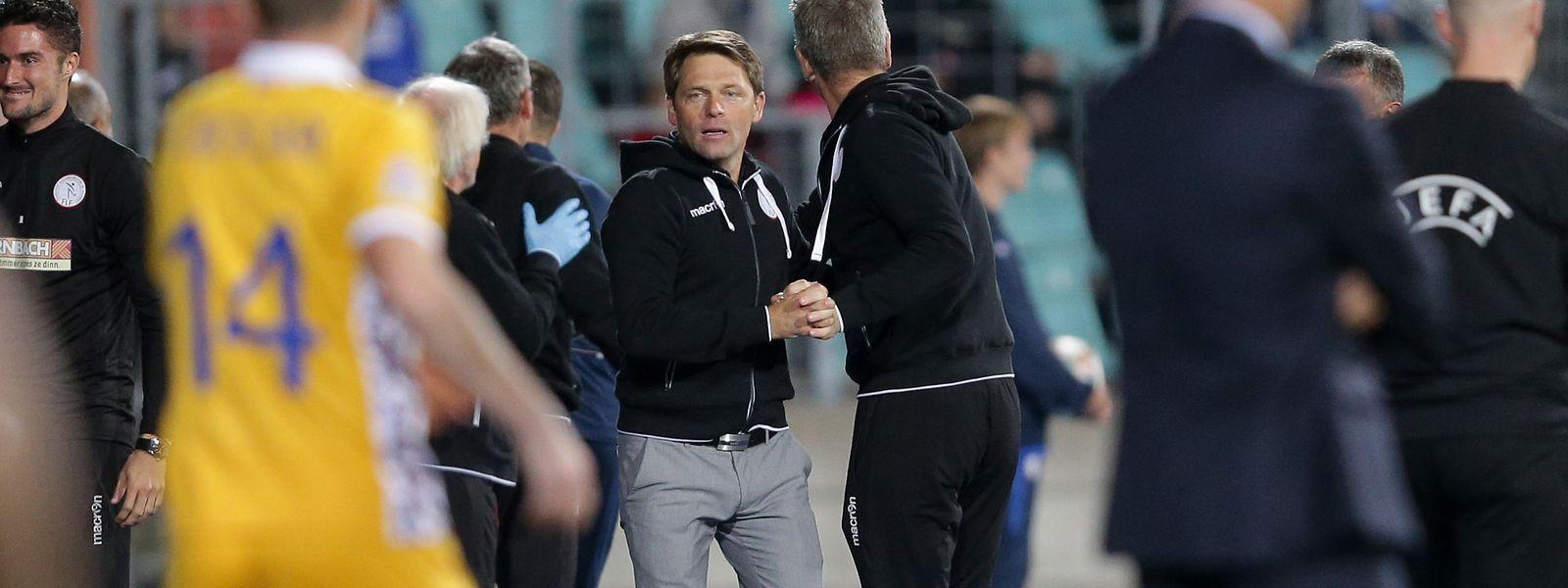 Am Dienstag steht für Nationaltrainer Luc Holtz bereits das nächste Länderspiel an.