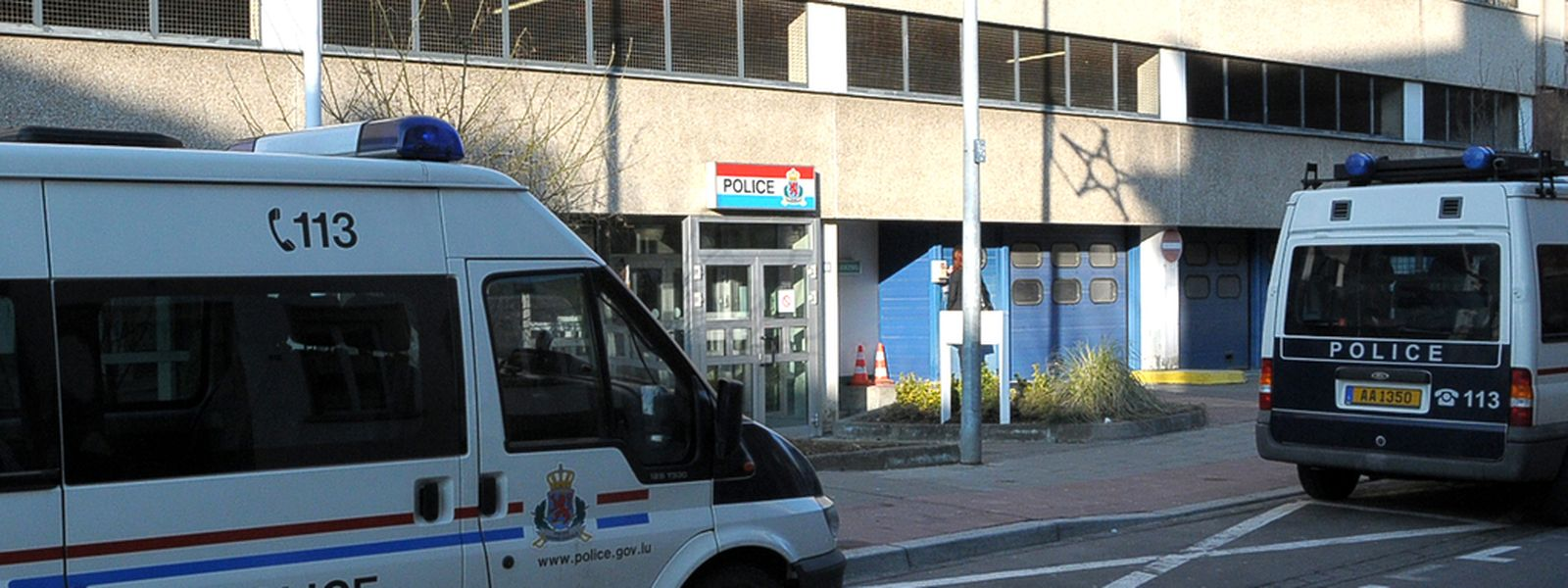 Beamte des CI Luxemburg ermitteln zu den Einbrüchen in der Hauptstadt.