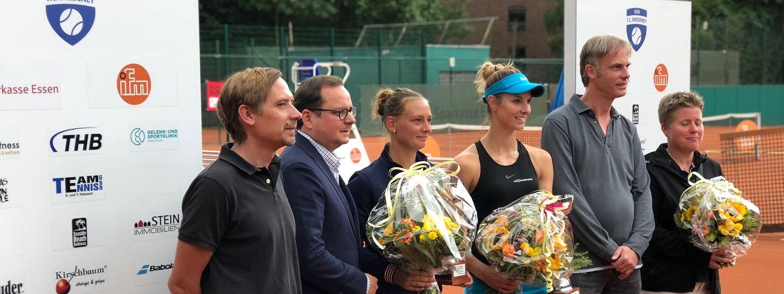 Après une finale d'anthologie remportée face à la Néerlandaise Cindy Burger, Mandy Minella a ajouté un quatorzième titre à son palmarès chez les professionnels