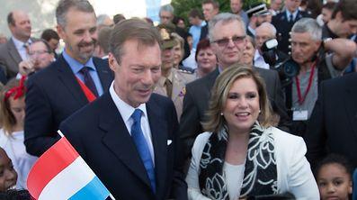LLAARR le Grand Duc Henri et la Grande Duchesse Maria Teresa en visite � Troisvierges, Elwen, Ulflingen, le 22 Juin 2016. Photo: Chris Karaba