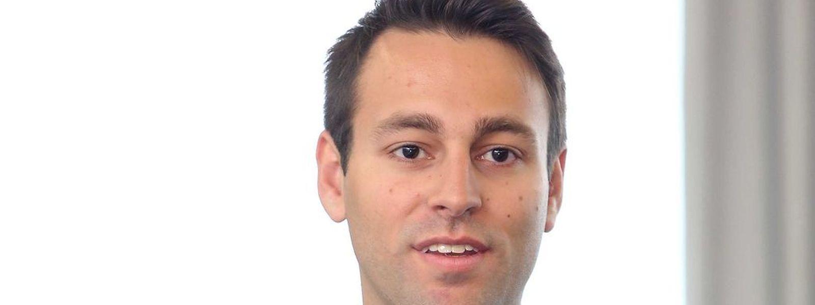 Patrick Rahme est le premier Global Shaper pour le Luxembourg CIty hub