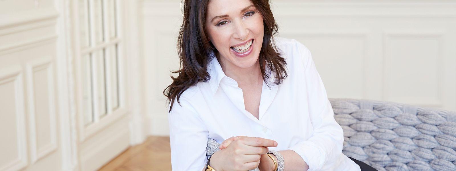 Nicole Stulman ist über ihren kreativen Job in Paris überaus glücklich.